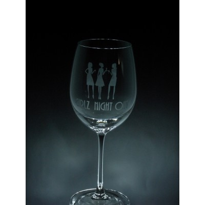 OCS-EVEN- Girlz night out, 1 verre à vin - prix basé sur le verre à vin 20oz