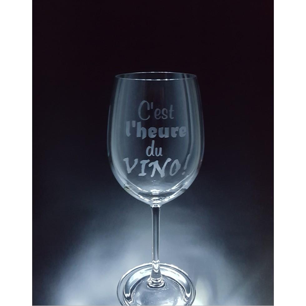 vin c 39 est l 39 heure du vino 1 verre prix bas sur le verre vin 20oz cr ations grande. Black Bedroom Furniture Sets. Home Design Ideas