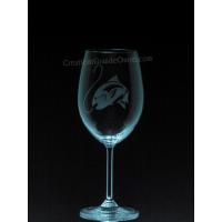 ANI-SM-poisson truite - 1 verre - Prix basé sur le verre à vin 20oz