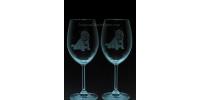 ANI-CK-Chien de race Westie - 1 verre - prix basé sur le verre è vin 20oz