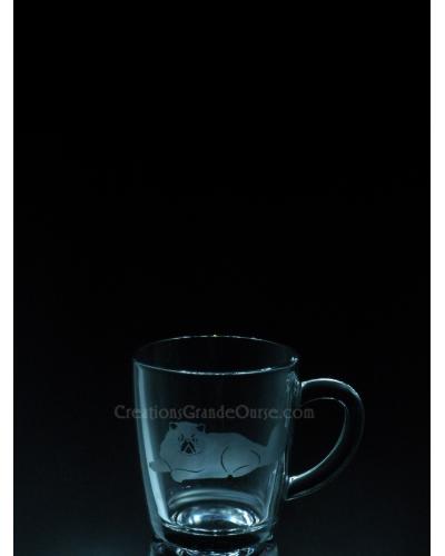 ANI-CK-Chat de race angora - 1 verre - prix basé sur verre à vin 20oz