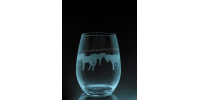 ANI-CV-Cheval pony tout le tour - 1 verre - prix basé sur le verre à vin 20oz