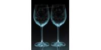 ANI-SM-poisson moucheté - 1 verre - prix basé sur le verre à vin 20oz