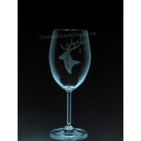 ANI-SW-caribou- 1 verre - prix basé sur verre à vin 20oz